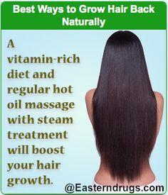 Way To Grow Hair Naturally