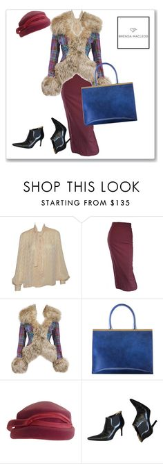 """""""retro style"""" by brendamacleod ❤ liked on Polyvore featuring Hermès, Jean-Paul Gaultier, Vivienne Westwood, Dolce&Gabbana, women's clothing, women, female, woman, misses and juniors"""