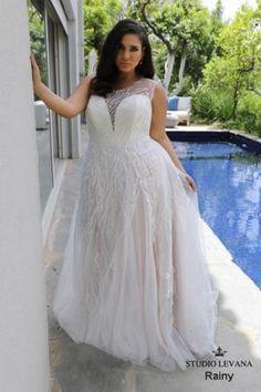 54a16b432cd Plus size wedding gowns 2018 Rainy (8) Wedding Dresses Plus Size