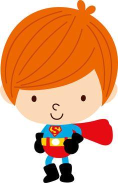 Super Heróis - Minus Superhero Clipart, Superhero Images, Superhero Party, Big Hero 6, Spiderman Chibi, Door Crafts, Cute Clipart, Toddler Costumes, Cute Images