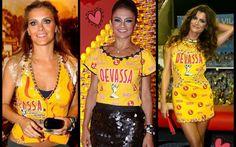 170 fotos de lindos modelos de abadás customizados para o carnaval 2017: Ideias de customização com passo a passo para personalizar o seu abadá!
