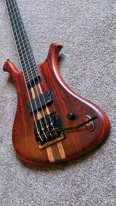 Everson Bass with a Kahler bass tremolo