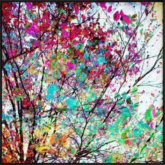 Autumn 8 als Poster im Kunststoffrahmen von Mareike Böhmer   JUNIQE