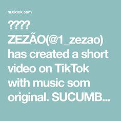 ❤️❤️ ZEZÃO(@1_zezao) has created a short video on TikTok with music som original. SUCUMBA KKKK #fyp #viwis #comedia #zezao #viral #piada #foryoupage #foryou #comenta #sequir #curtir_e_seguir #curti The Originals, Create, Memes, Music, Musica, Musik, Meme, Muziek, Music Activities