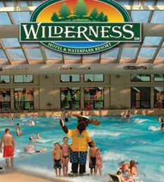 Heading to wisconsin dells again this summer, and going back to the Wilderness.  So many fun activites for all ages.