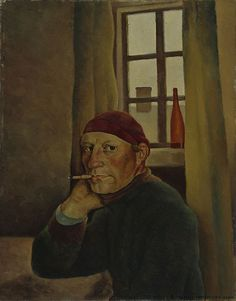 Vilho Lampi, Self-Portrait, 1933.