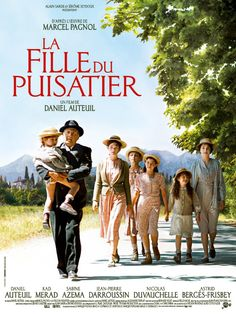 """Affiche du film """"La fille du puisatier"""""""