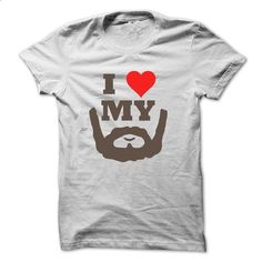 I love my beard  - #tshirt template #winter hoodie. MORE INFO => https://www.sunfrog.com/No-Category/I-love-my-beard_33z-1844-White-4171028-Guys.html?68278
