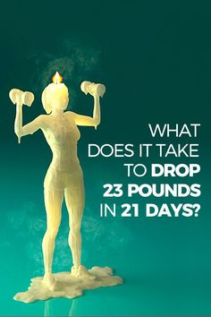 Losing 23 pounds in 21 days would change your life. But how on earth can you lose so much weight so fast. And how can you do it in a SAFE manner?