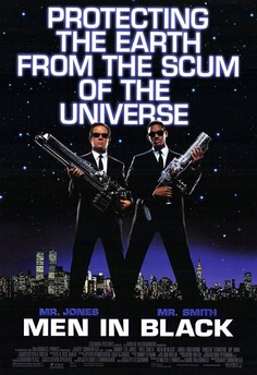 Men In Black - Comedy/SciFi - Great movie.  Excellent use of aliens (I always thought Dennis Rodman didn't look human).