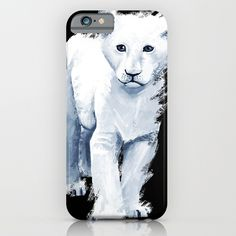 Ghost Lion iPhone & iPod Case    IPHONE IPHONE  Protect your iPhone 6s with a unique Society6 phone case featuring wrap around art designed by artists from around the world.  Our Slim Cases are constructed as a one-piece, impact resistant, flexible plastic hard case with a slim profile.   #art #painting #drawing #illustration #decoration #idea #print #sketch #sketchbook #iphone #case #phone #smartphone #artist #tomcii #society6 #youtube #canvas #cool