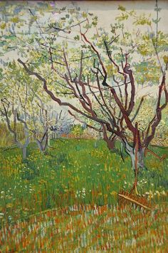 @ArtPicsChannel : Vincent van Gogh - The Flowering Orchard 1888 https://t.co/HfBMSwbcKf