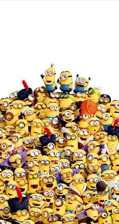 Minions - Funny minion, Minions quotes, Minion banana, Minion wallpaper, Despicable me 2 Image Minions, Cute Minions, Minion Movie, Minions Despicable Me, Minion Stuff, Evil Minions, Funny Minion, Minion Art, Minion Humor