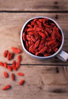 Os 10 melhores alimentos para turbinar o cérebro - Goji Berry