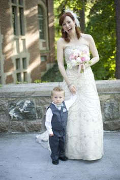 Cutest little ringbearer on earth! (I may be slightly biased.)