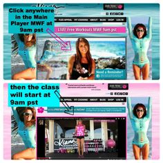 Kiana Tom Fit Mom TV Expert LIVE Online Fitness Classes MWF 9am pst