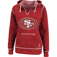 The latest San Francisco merchandise is in stock at FansEdge. Enjoy fast shipping and easy returns on all purchases of gear, apparel, and memorabilia with FansEdge. Sf Niners, Forty Niners, Super Bowl Gear, 49ers Outfit, Sport Outfits, Cute Outfits, 49ers Fans, Hooded Sweatshirts, Hoodies