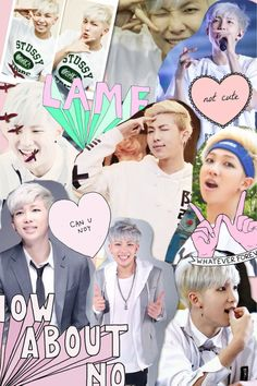 rap monster collage - Buscar con Google