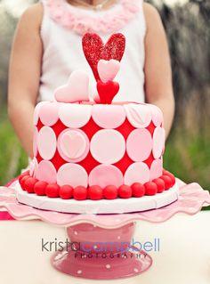 cake....valentina Valentine party?