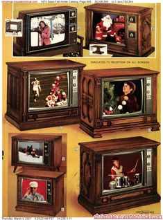 Vintage Tv Ads, Vintage Television, Christmas Catalogs, World Of Color, Classic Tv, Old Toys, Old School, Fall Winter, Holiday