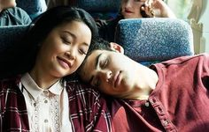 The growth from fake relationship to genuine relationship between Lara Jean and Peter symbolizes the growth and deepness found in Elizabeth and John's relationship. Lara Jean, Julia Stiles, Love Movie, I Movie, Cute Couples Goals, Couple Goals, Films Netflix, Peter K, Jean Peters