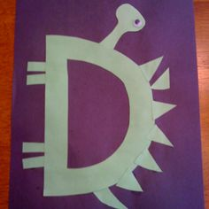 Letter D craft