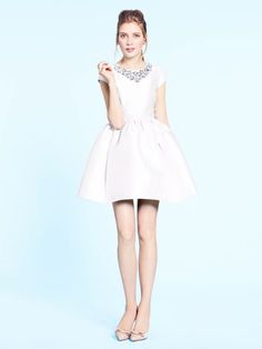 Rehearsal dinner dress. Kate Spade madison ave. collection quinlan dress