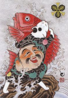 ❤ =^..^= ❤    Kazuaki Horitomo Kitamura - Monmon Cats Japanese Animals, Japanese Cat, Japan Illustration, Ephemeral Art, Cat Cards, Kawaii, Japan Art, Cat Tattoo, Crazy Cats