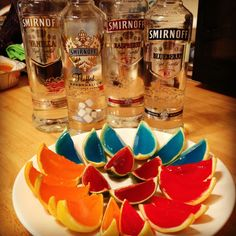 how to make jello shots with smirnoff vodka