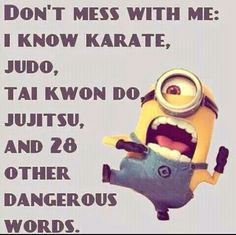 For the love of minions here are some really humorous quotes from minions, that are equally hilarious and sarcastic, read em and enjoy em… ALSO READ: 30 Hilarious Quotes from Minions ALSO READ: Top 30 Funny Minion Quotes Funny Minion Pictures, Funny Minion Memes, Minions Quotes, Funny Relatable Memes, Funny Texts, Funny Jokes, Funny Sarcastic, Minions Pics, Funny Sayings