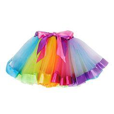 New Halloween pettiskirt Pirate stripes skirt costume tutu 10-12 years girl