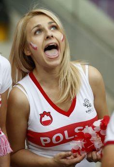Beautiful Slavic girls, Polish and Russian on EURO 2012 http://www.polskatimes.pl/