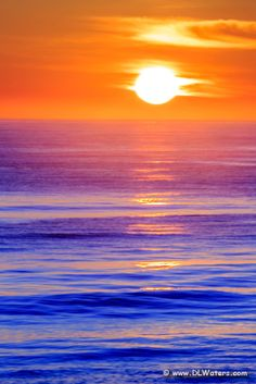Sunrise over the Atlantic Ocean in Kitty Hawk North Carolina.