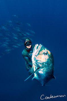 Coatesman's  Spearfishing & Waterman's Blog: Brazilian Record Breaking Mozambique Spearfishing ...