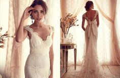 French Romance-Inspired Wedding Gowns | OneWed