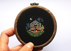 Ghost Sisters of the Greenhouse // Hand by BaobapHandmade on Etsy