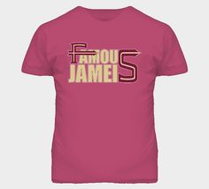 Jameis Winston FSU Quarterback Football T Shirt. Available in all sizes in men's and ladies shirts. Visit www.fanTstore.com