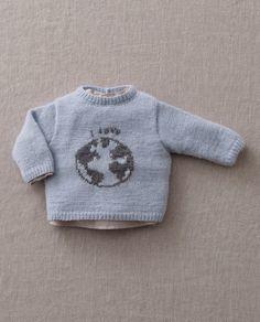 Breipatroon Babytruitje Love the World