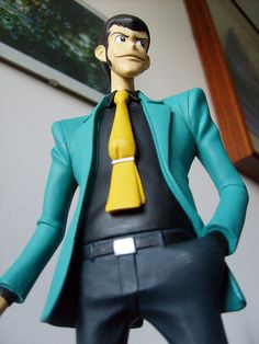 I have this model! <3 Lupin III!