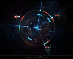 Mass Effect User Interface i did for Omega DLC
