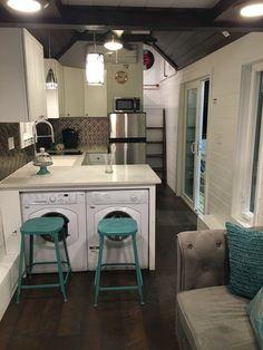 65 cute tiny house ideas & organization tips (65)