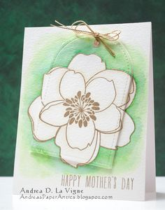 Andrea's Paper Antics: Magnolia for Mother's Day