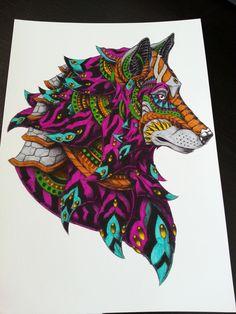 Bestiaire Fantastique Loup
