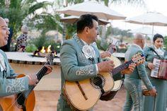 Mariachi Band at Villa de Amore outdoor wine country wedding venue in Temecula California