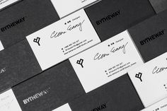 2016 BY Business Card on Behance