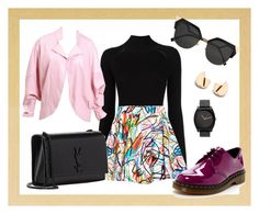 """""""colors"""" by andreolam on Polyvore featuring Misha Nonoo, Jeremy Scott, Dr. Martens, Yves Saint Laurent and Fendi"""