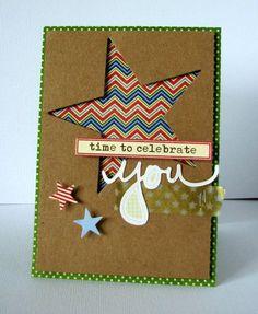 Nicole-time to celebrate card