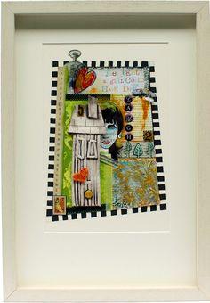 From the Corner of my Room Mixed Media Artwork, My Room, Framed Wall Art, Ceramics, Corner, Handmade, Urban, Inspiration, Ceramica