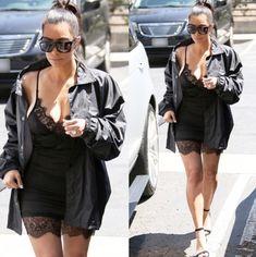 $60 satin dress Kim Kardashian got her outfit from Mystylemode