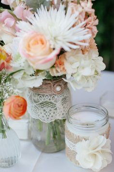 Jackie and Mario's Chic Rustic Wedding | AllFreeDIYWeddings.com